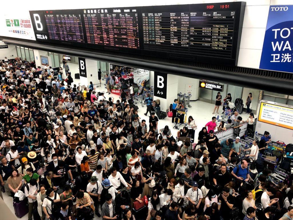 成田空港難民